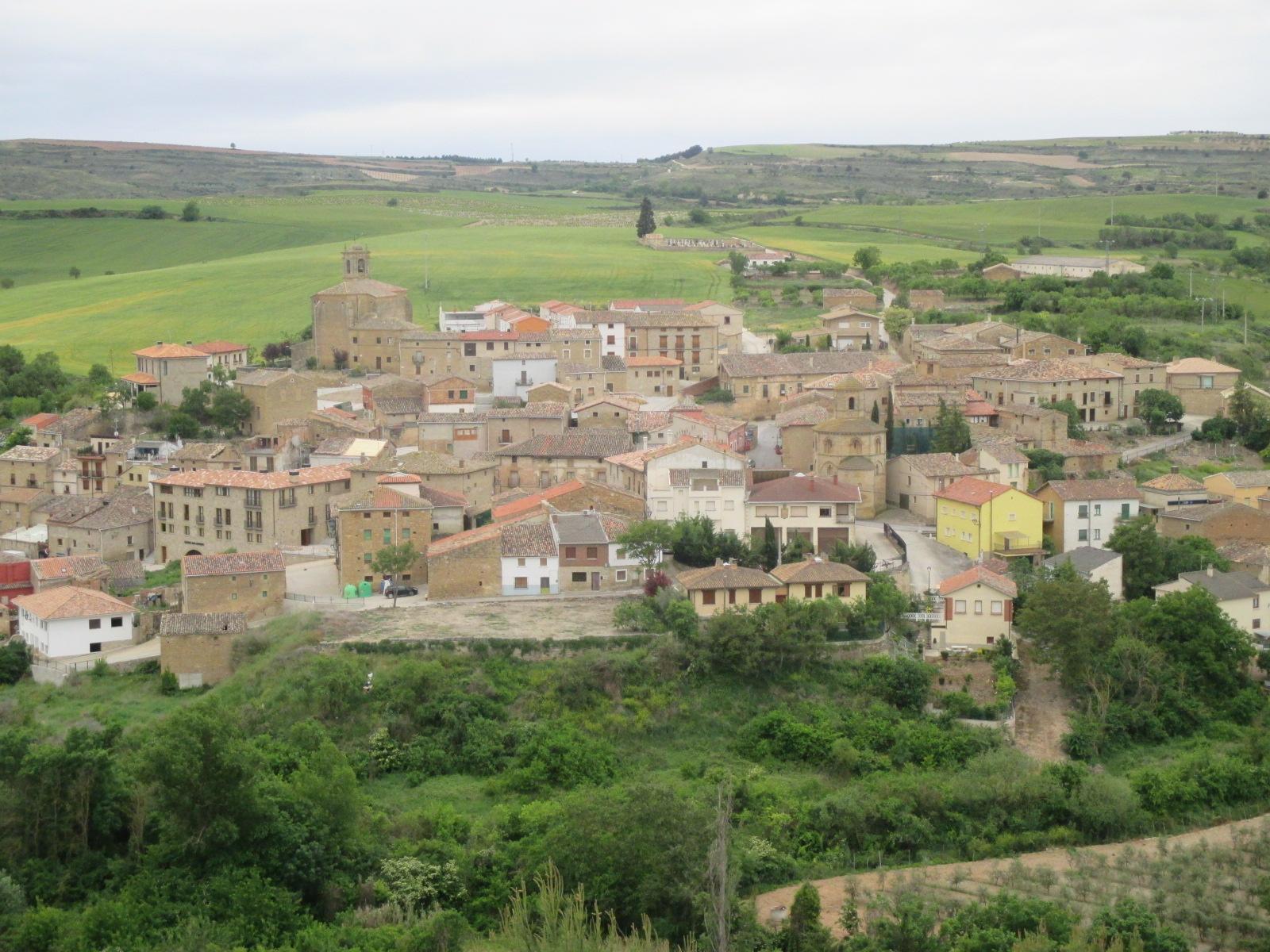 5.- ESTELLA-SANSOL-TORRES DEL RÍO (28 km) (29 km) (26 km desde el camping de Iratxe)