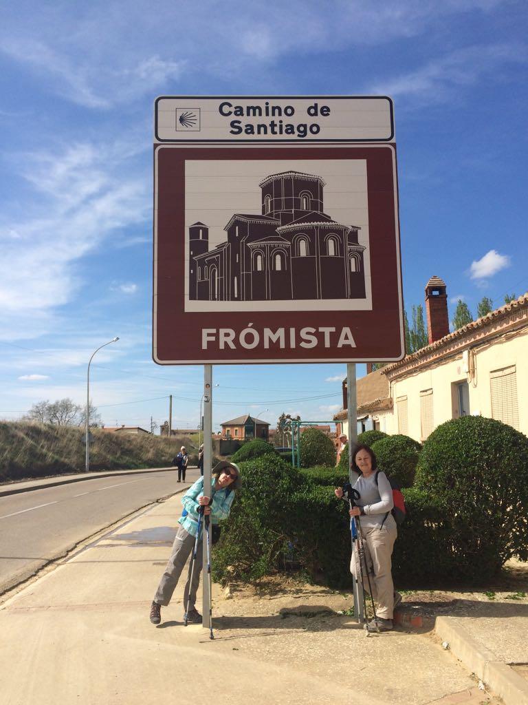14.- CASTROJERIZ- BOADILLA DEL CAMINO (20 Km)         FRÓMISTA (25 Km)